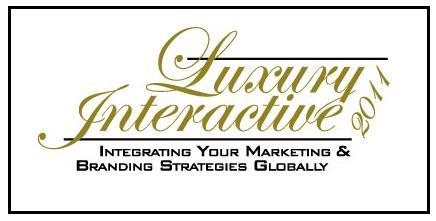 Luxury Interactive London 24 - 25 May 2011  luxuryinterlondon20111