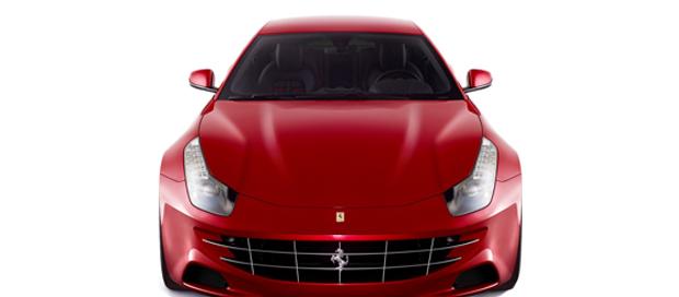 The new fantastic Ferrari FF 1