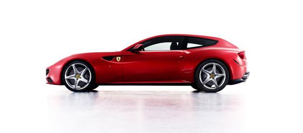 The new fantastic Ferrari FF 3