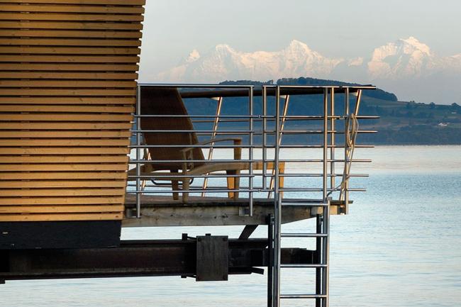 Hotel Palafitte. Swiss palafitte lacustre 6