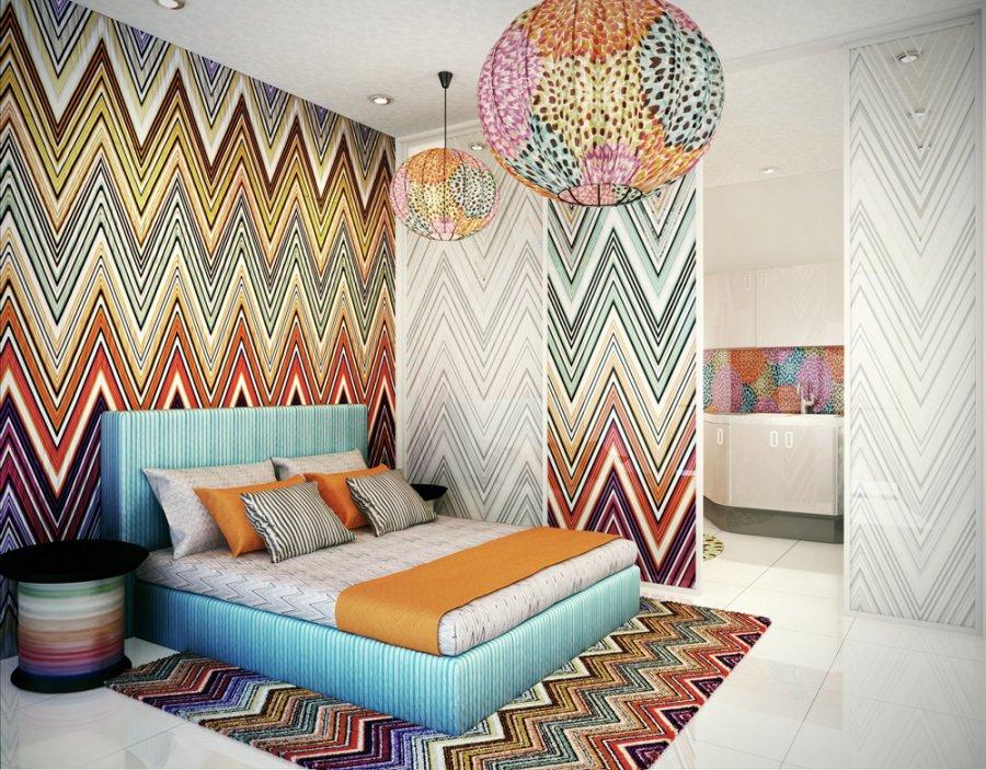 Missoni in Manila the inspiration for the interior design