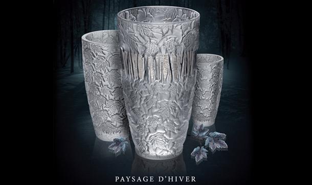 "1-Paysage D'Hiver  Lalique ""Paysage d'Hiver"" new collection 1 Paysage DHiver"