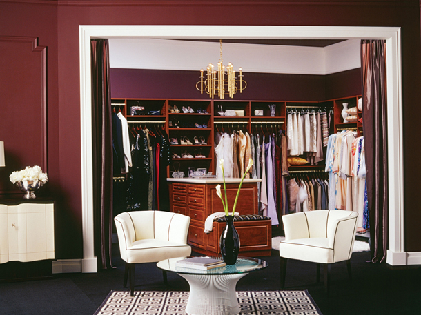 California Closets Luxury  Luxury Closets 1 California Closets Luxury Walk In Closet Burgundy1