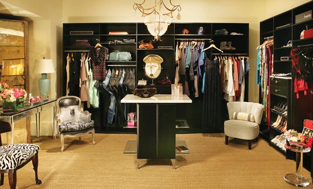 Dream-closet-black-chandelier-hollywood-luxury-glamour-seating  Luxury Closets 2 Dream closet black chandelier hollywood luxury glamour seating