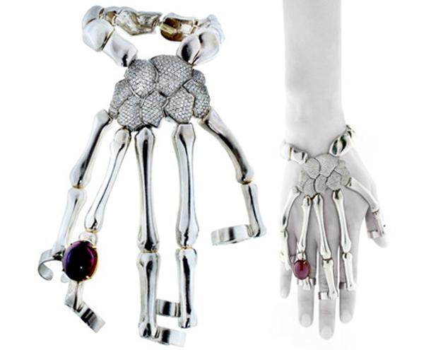 skeleton_hand_bracelet_delfina_delettrez  Dark & Mysterious Jewelry HT 4 skeleton hand bracelet delfina delettrez tk 131030 wmain