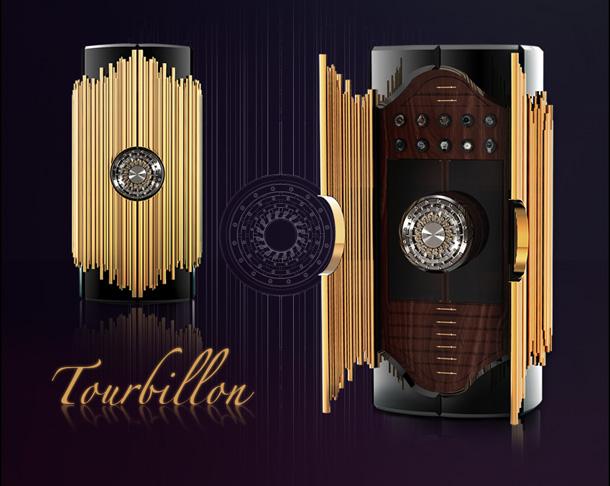 SAFE-BOX-LIMITED-EDITION-TOURBILLON-BOCA-DO-LOBO  Limited edition furniture: a steampunk inspired safe  SAFE BOX LIMITED EDITION TOURBILLON BOCA DO LOBO