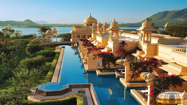 The-Oberoi-Udaivilas-India-pool  Top Luxury Hotels for 2014 by tripAdvisor The Oberoi Udaivilas India pool