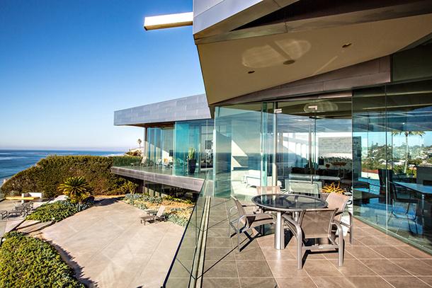 Crescent-house-Wallace-Cunningha  Luxury Crescent House by Wallace Cunningham  Crescent house Wallace Cunningha
