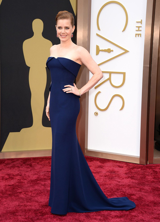 Amy-Adams-The-2014-Oscars-Best-Dressed-  The 2014 Oscars Best-Dressed Amy Adams The 2014 Oscars Best Dressed