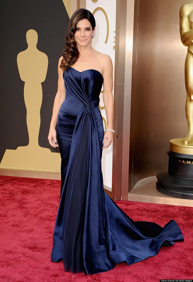 86th Annual Academy Awards - Arrivals  The 2014 Oscars Best-Dressed The 2014 Oscars Best Dressed SANDRA BULLOCK