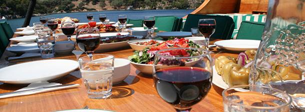 Gastro Lunch Peru   2014 Travel Trends  gastro lunch turkey gulet