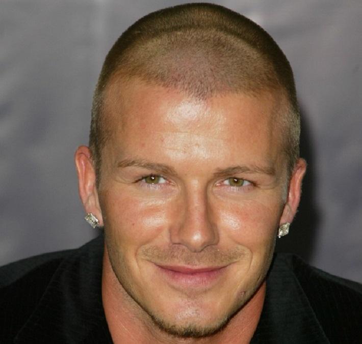 david beckham  David Beckham hairstyles Suedehead