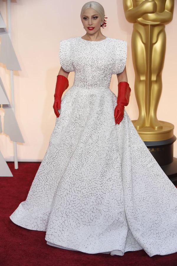 Oscars 2015: Best Dressed Women  Oscars 2015: Best Dressed Women Lady gagga