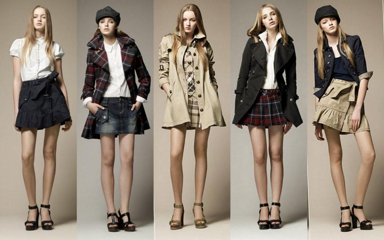 женская одежда Burberry