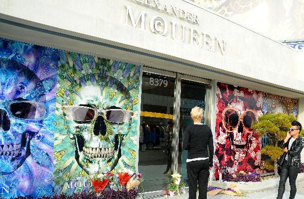 club-delux-alexander-mcqueen-los-angeles-store  Top Luxury Brands | Alexander Mcqueen club delux alexander mcqueen los angeles store