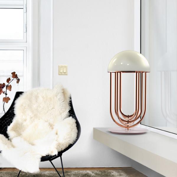 Use Copper & Golden Lighting in your Bedroom Designs  Use Copper & Golden Lighting in your Bedroom Designs delightfull turner 01