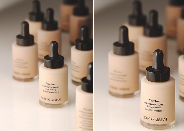 Armani Beauty    Time to suit up your skin maquiagem base giorgio armani maquiagem