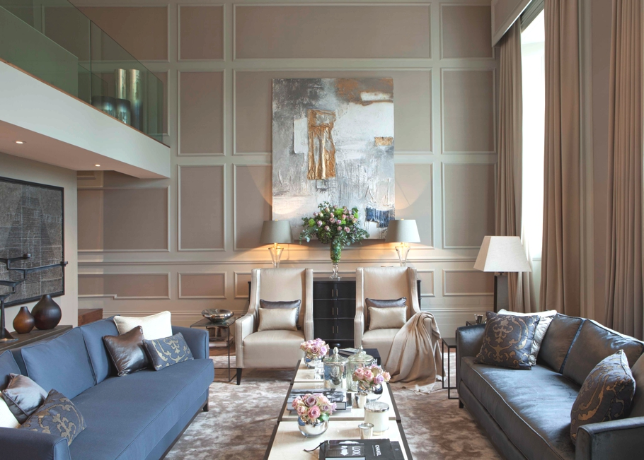 LUXURY APARTMENT | HYDE PARK LONDON Contemporary Property Interior Design London 111