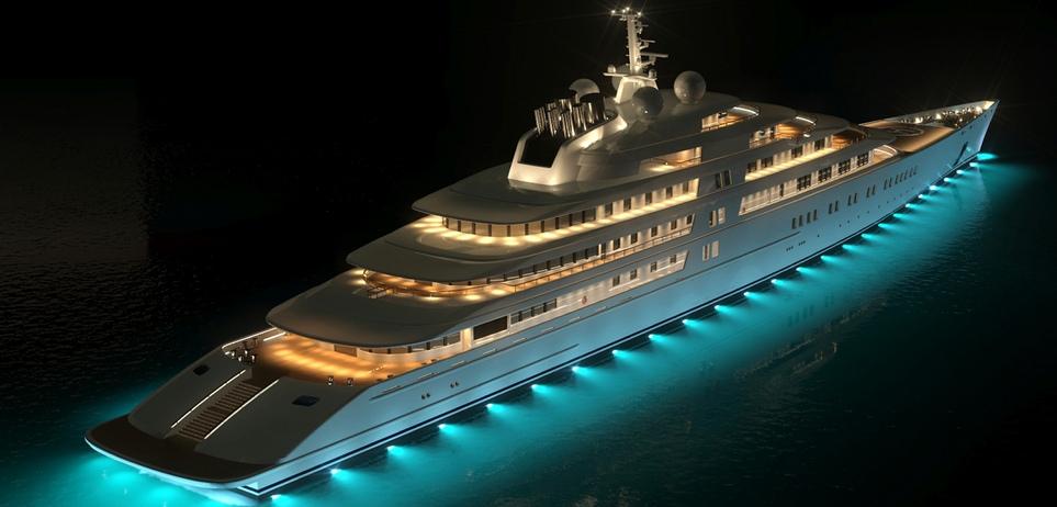 WORLD´S SUPERYATCH the worlds largest yacht Azzam