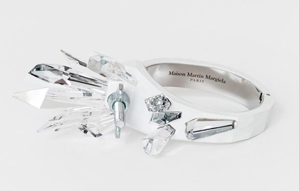 FUTURISTIC CRYSTALS – Margiela X Swarovski margiela jewels haute couture crystalactite swarovsky ring