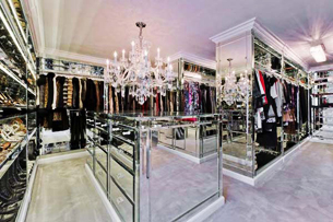 Luxury Closets Luxury Walk in Closet Design 305