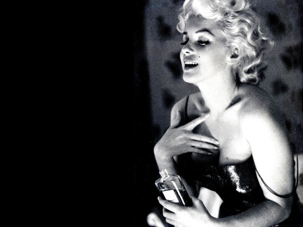 TOP 6 sensual frangrances  marilyn monroe chanel n5